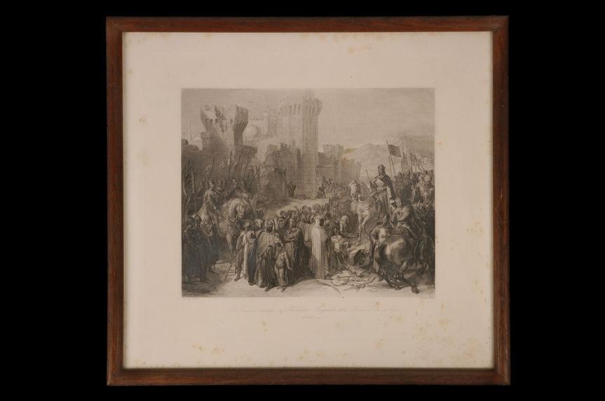 Ptolémaïs remise à Philippe-Auguste et à Richard coeur-de lion (13 Juillet 1191)