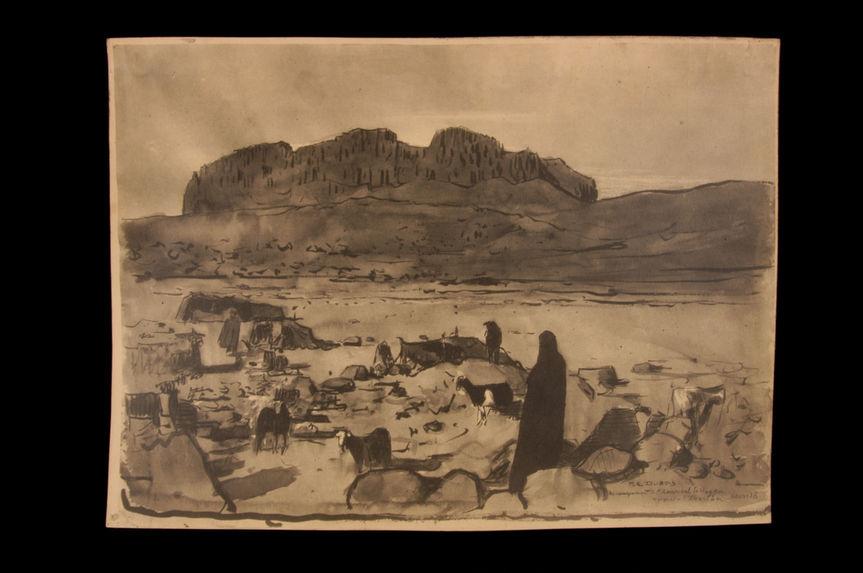 Au campement de l'Aménokal du Hoggar