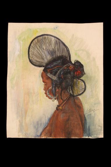 Femme du Fouta Djalon (Guinée)