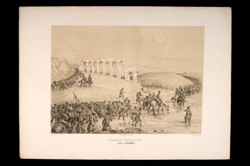 L'armée française passe le Rummel