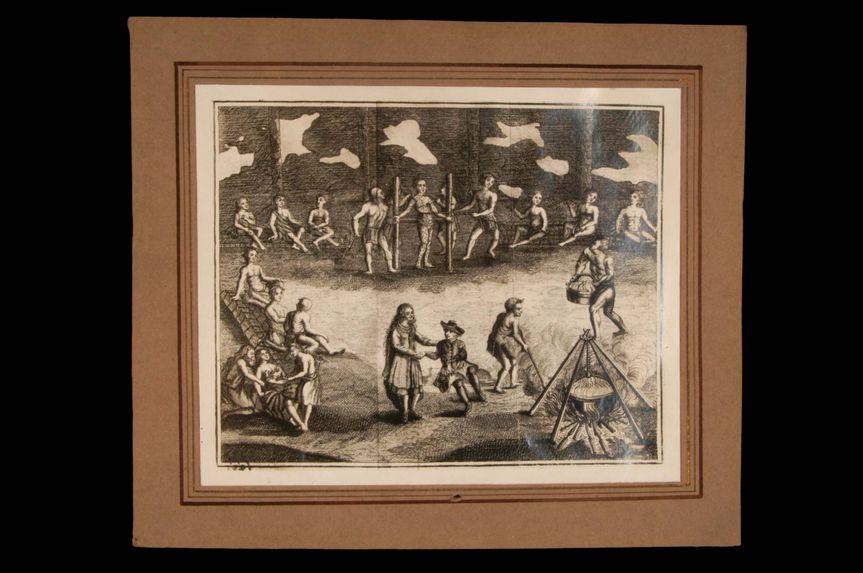 Sans titre [Supplices infligés à leurs prisonniers par les Hurons, 1624]