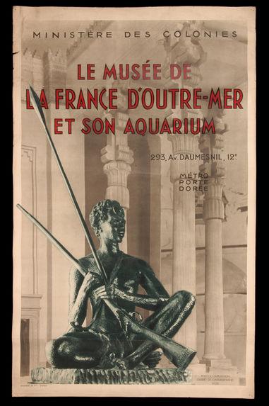 Le Musée de la France d'Outre-Mer et son aquarium