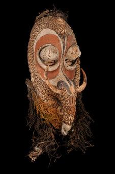 Face de masque