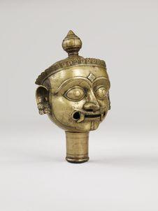 Tête de Shiva Bhairava