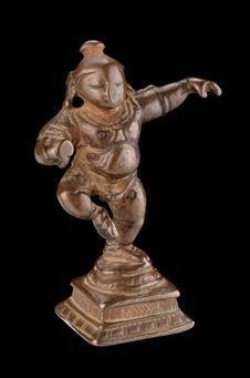 Statuette de Krishna