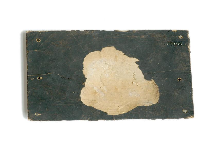 Socle du reliquaire zoomorphe 71.1961.103.56.1-6 (poisson, crâne)