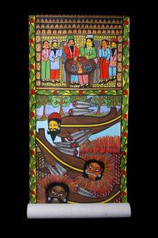 Peinture sur rouleau: Le 11 septembre 2001