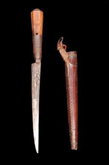 Couteau et sa gaine