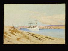 Le Canal de Suez. El Ferdane