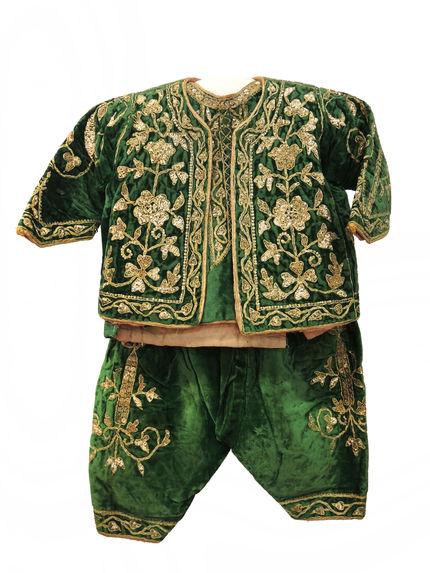 Costume de circoncision: corsage