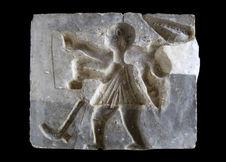 Moule d'un bas-relief du Palais de Ghèzo (royaume d'Abomey)