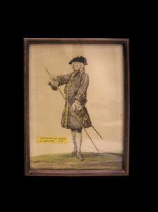 Capitaine des gardes du Pavillon 1717
