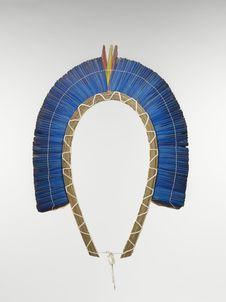 Elément de couronne : couronne de plumes
