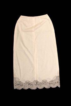 Costume de femme : jupon