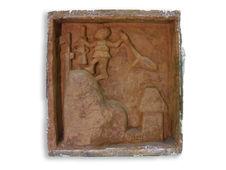 Moulage d'un bas-relief du Palais d'Agadja (royaume d'Abomey)