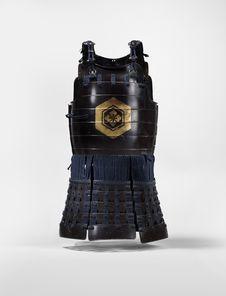 Elément d'armure de samouraï : cuirasse