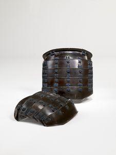 Elément d'armure de samouraï : épaulières