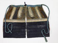 Elément d'armure de samouraï : sous-jupe