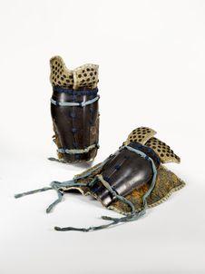 Elément d'armure de samouraï : jambières