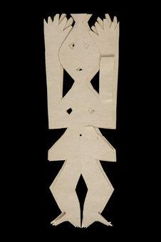 Ensemble de 3 figures en papier