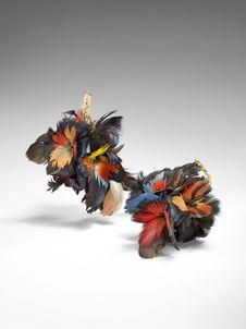 """Paire de """"bouquets de plumes&quot"""