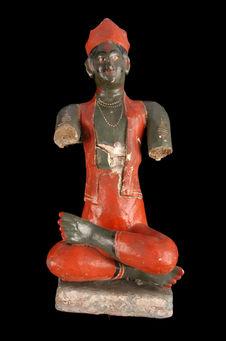 Statuette figurant Karttikeya