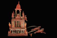 Modèle réduit de char processionnel