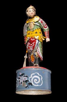 Jouet représentant un personnage de théâtre