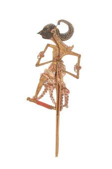 Figure de wayang kulit : Prince Sadewa (Saudara raja Penawa)