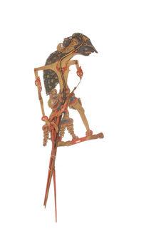 Figure de wayang kulit : Abimanyu