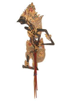 Figure de wayang kulit : Prabu Mintadjewa ou Kresna Negri Meralaya