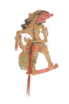 Figure de wayang kulit : Aria Dursasana Adik dari raja-Astina