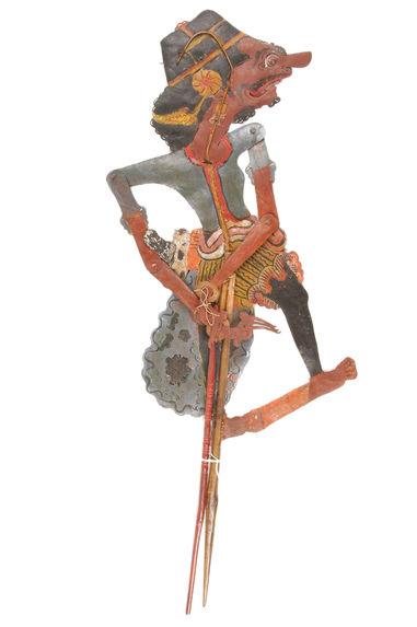 Figure de wayang kulit : Jaya Rata Saudara dari raja Astina