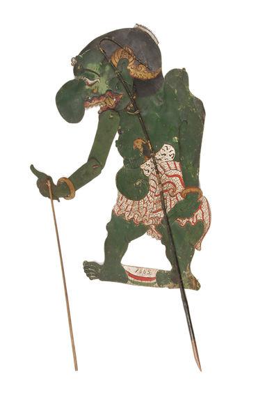Figure de wayang kulit : Mendung Kapitu Rayat raja Alenka