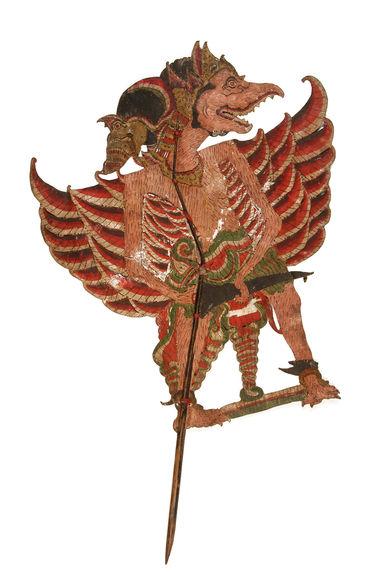 Figure de wayang kulit : Paksi Anjono Burung besar