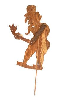 Figure d'ombres : ermite grotesque Achar Maharisi