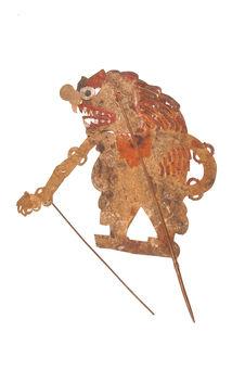 Figure d'ombres : démon Jin Pari Hantu
