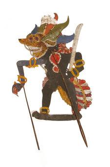 Figure d'ombres : démon Batara Kala