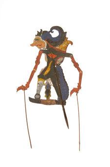 Figure d'ombres : prince Maharaja Raden Kulian