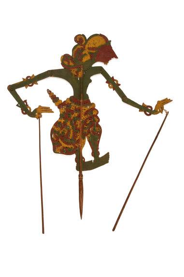 Figure d'ombres : prince guerrier Singal Pati