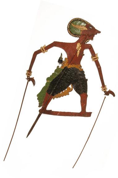 Figure d'ombres : démon-guerrier Indaga