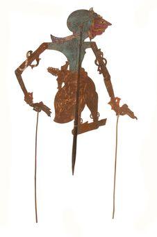 Figure d'ombres : démon-guerrier Jerudih