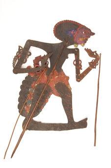 Figure d'ombres : démon-guerrier Kalang Iga Iga