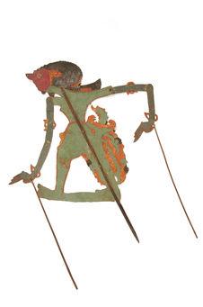 Figure d'ombres : démon-guerrier Bambang