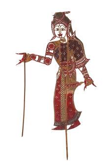 Figure d'ombres : suivante Nang Prah Thum Thong
