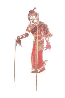 Figurine de théâtre d'ombres: suivante