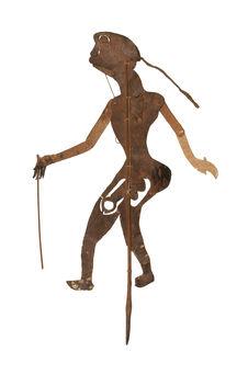 Figure d'ombres : bouffon Ai Bu