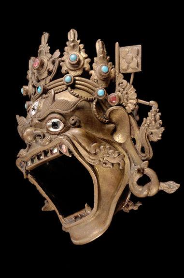 Tête de Mahakala