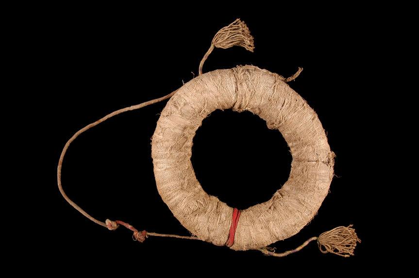 Support de panier pour porter les gerbes de riz