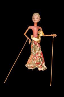 Marionnette de wayang golek : Dorma